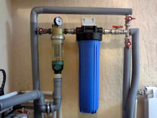 система водоподготовки магистральный фильтр создавайте комбинацию